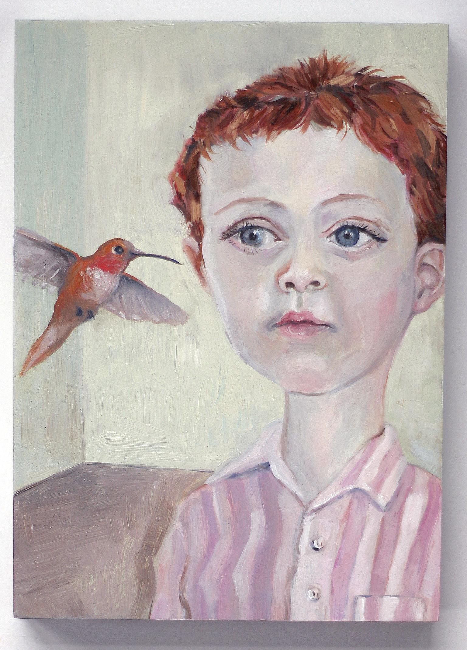 Boy with Hummingbird2x3