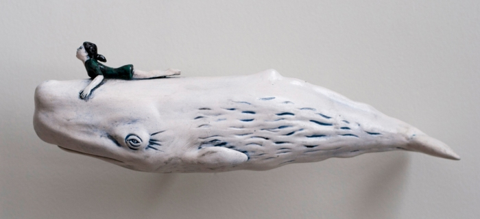 Consentino_Caressing Whales_ceramics_10.25inx3inx4in