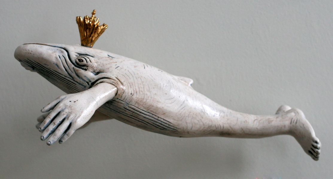 Ceramics, figurative, sculpture, clay sculptures, fine art for sale, figurine, , animals, hybrids, children, women, feminist, social commentary, pottery, busts, portraits, drawings, installation, exquisite corpse, nudes, surrealism, contemporary art, gender, tchotchke, kitsch, pop surrealism, postmodernism, domestic, beauty gender roles, low art flower art, buy fine art, collect fine art, art collectors, art collections, fine art collectible, whales, cetaceans, environment, pods, fishing, humpbacks, north atlantic right whale, sperm whales, industrial revolution, whale oil, spermaceti, fish nets, mythology, ivory carvings, scrimshaw, whalebone, flensing, baleen