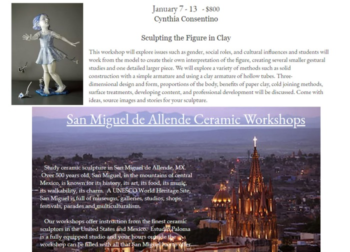 Figure Workshop in Mexico